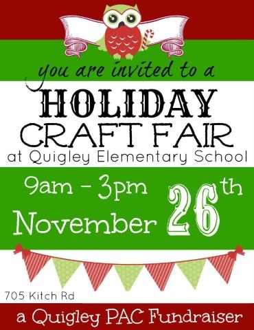 PAC Holiday Craft Fair