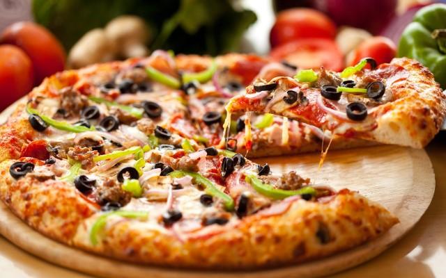 PIZZA FRIDAYS in December.